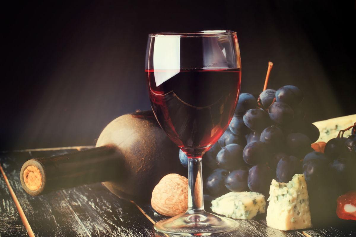 copa vino bocadillos-tomar vino