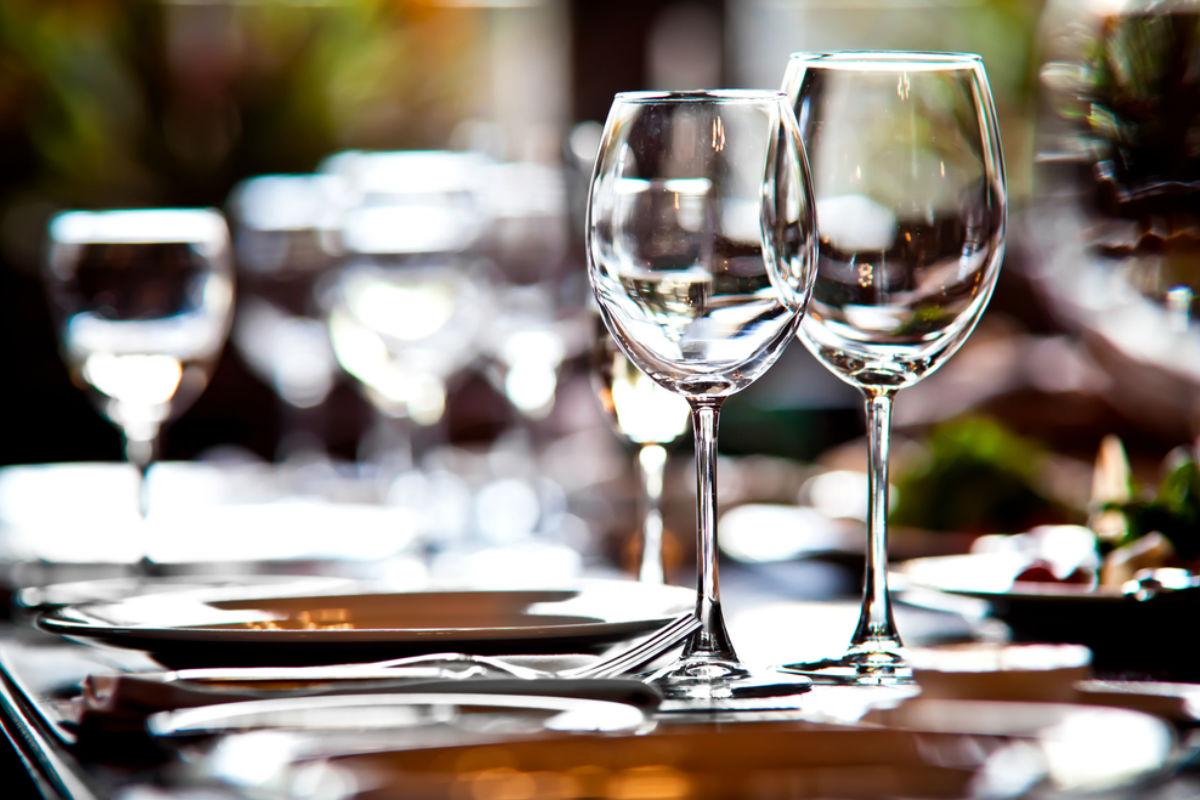 copa cristaleria mesa restaurante