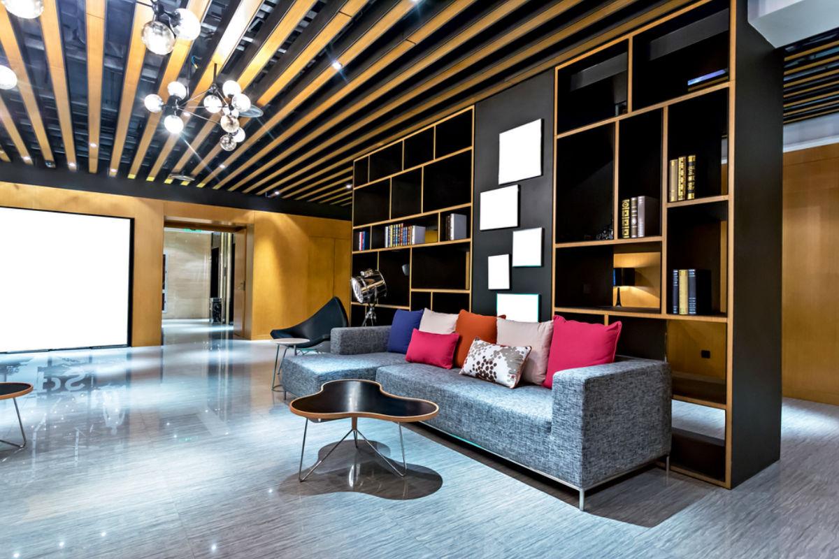 sala moderna interior casa