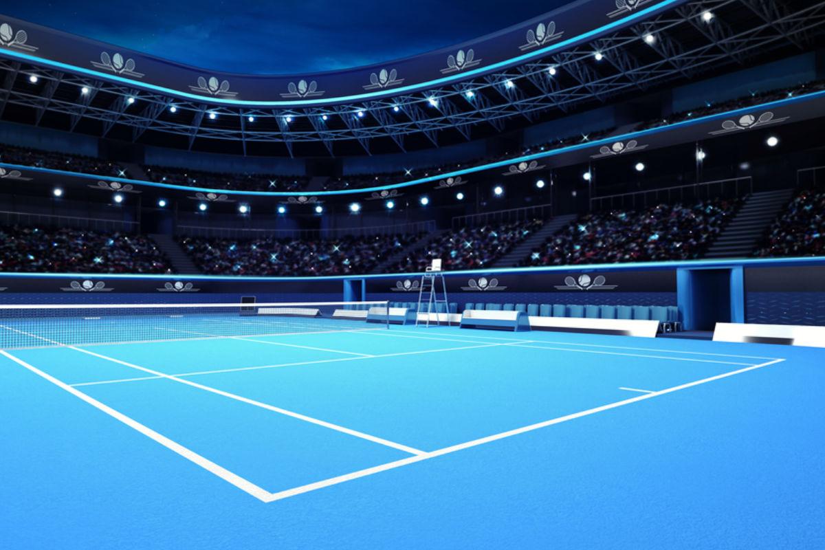 tenis cancha deporte