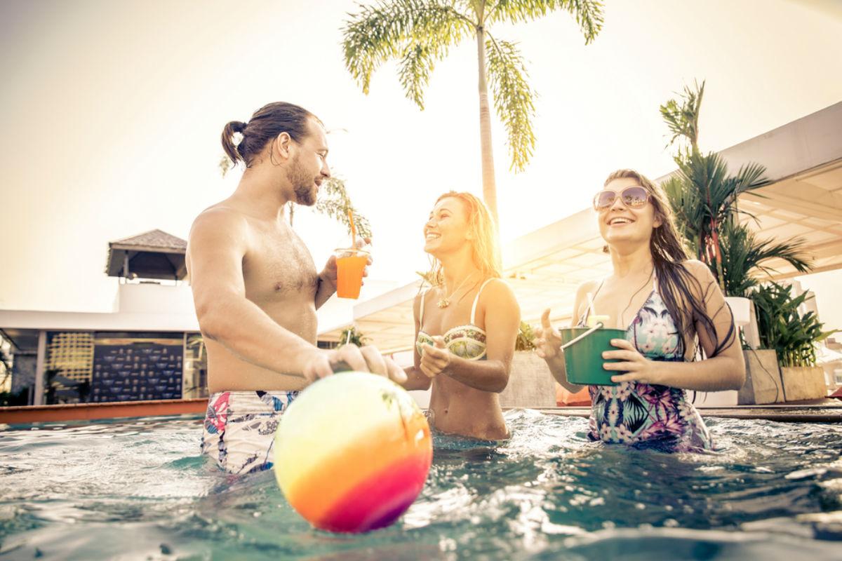 fiesta playa verano