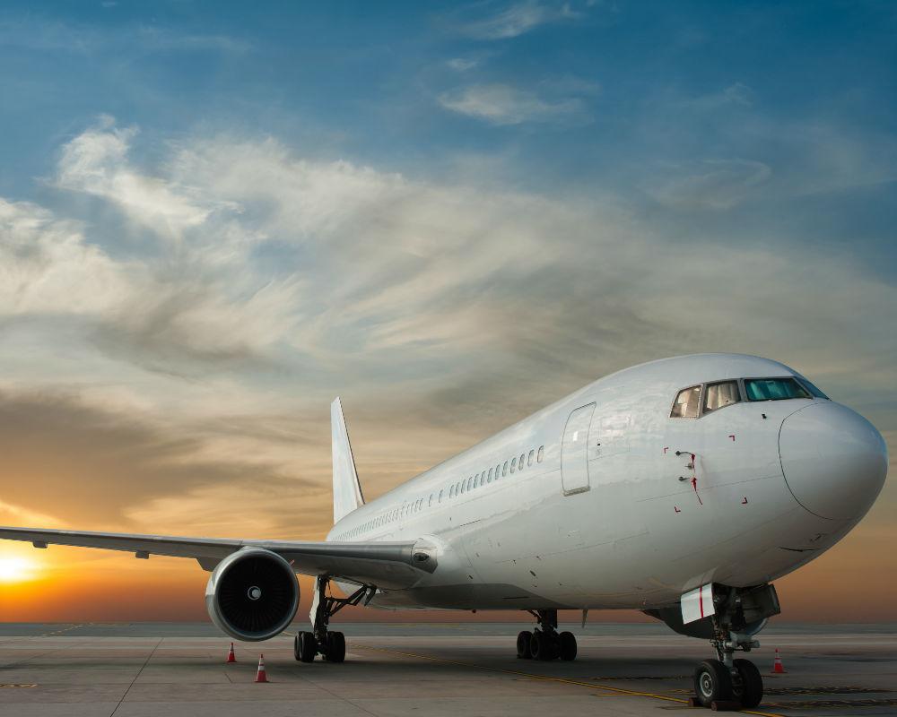 Avión vuelo viaje jet privado