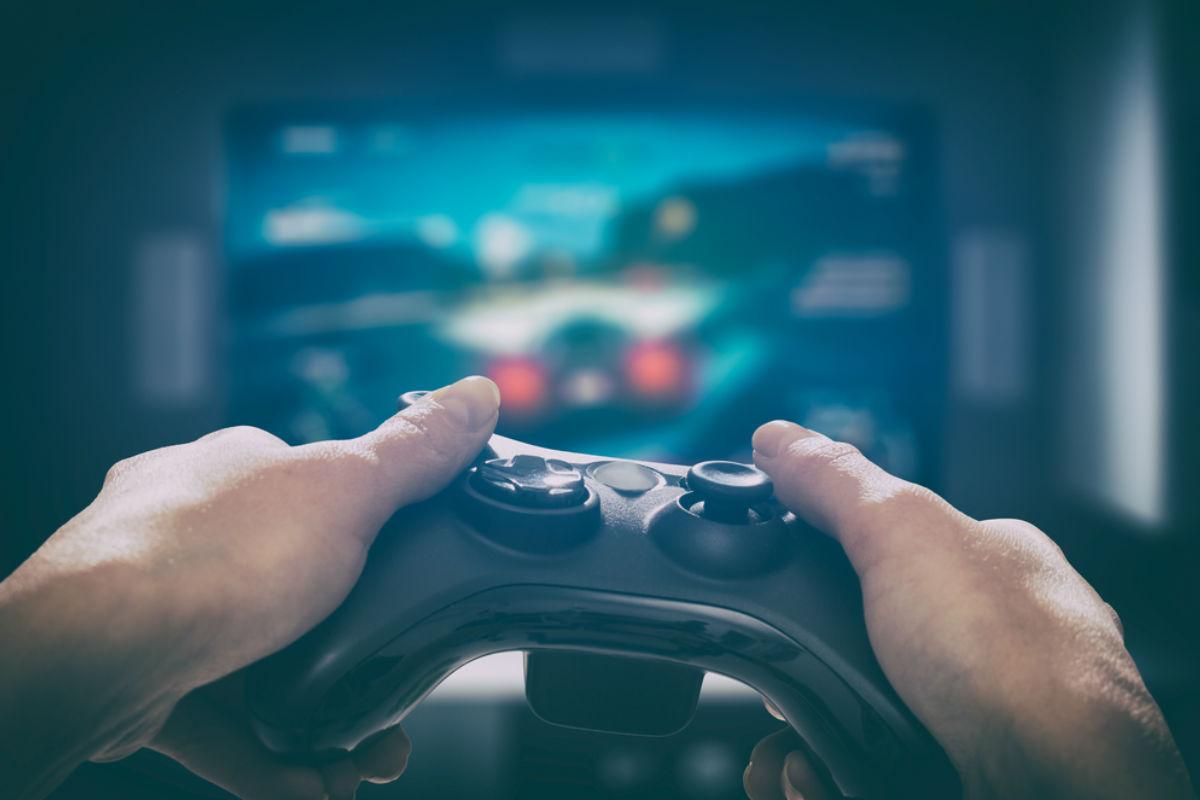control videojuegos gamer consola