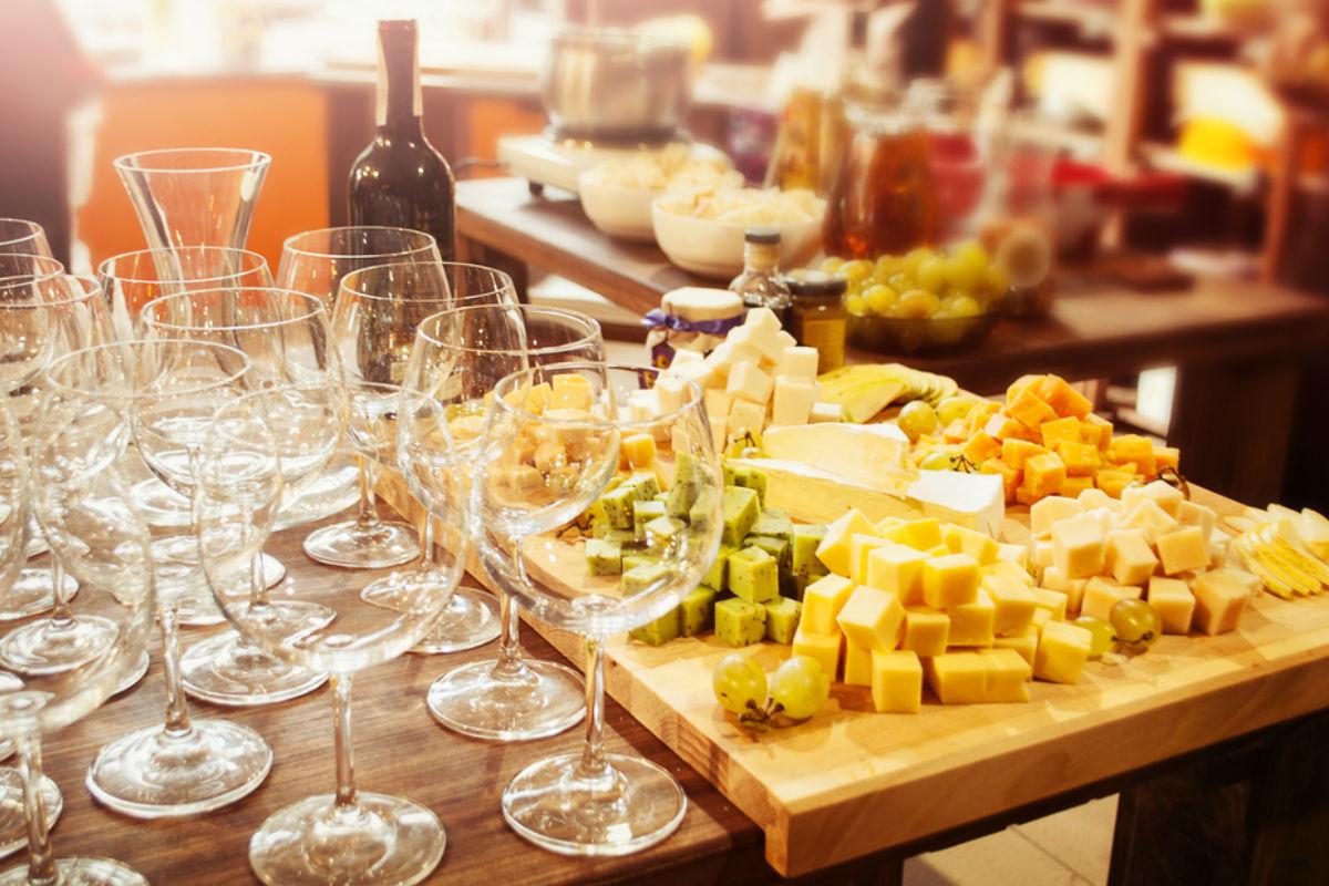 copas quesos botana vino