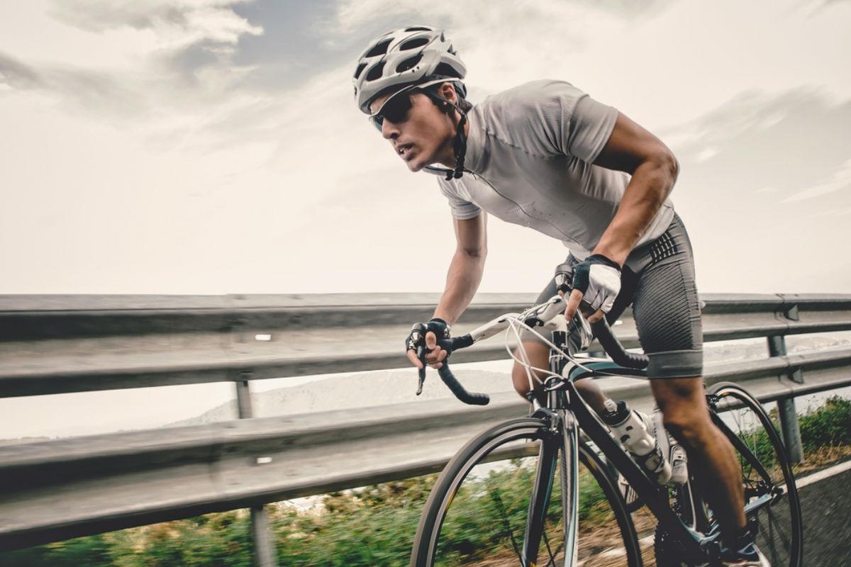 hombre bici ciclismo deporte