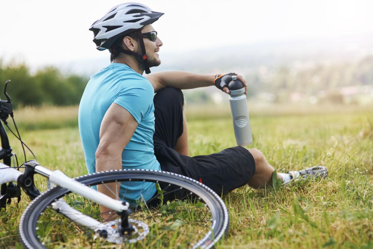 hombre bicicleta deporte fitness bici