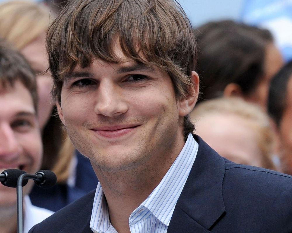 Ashton Kutcher enero y febrero