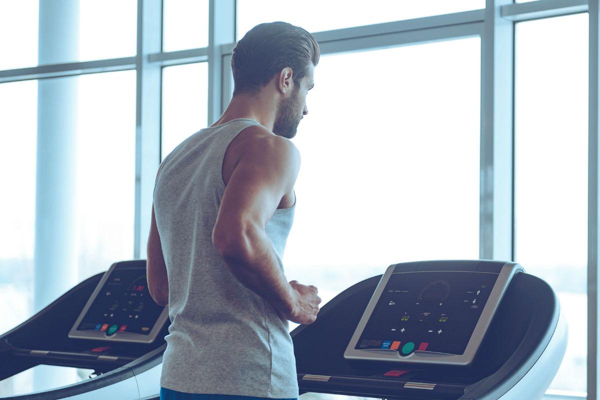 Caminadora, ejercicio, correr