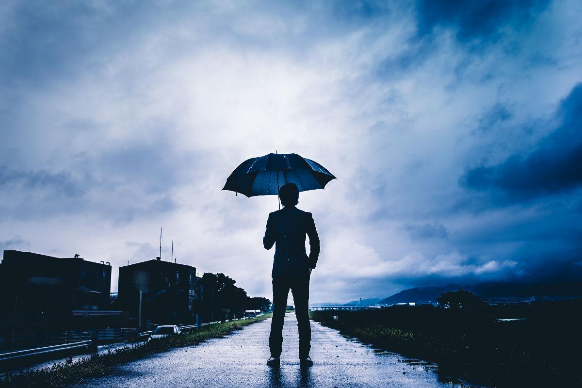 lluvia calzado estilo