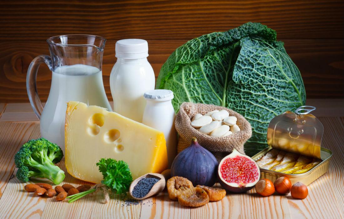 Alimentos ricos en calcio estado de ánimo