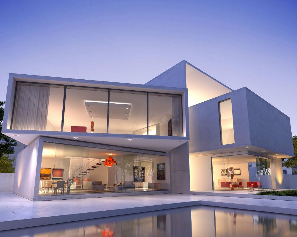 C mo son las casas construidas con contenedores - Casa hecha con contenedores ...