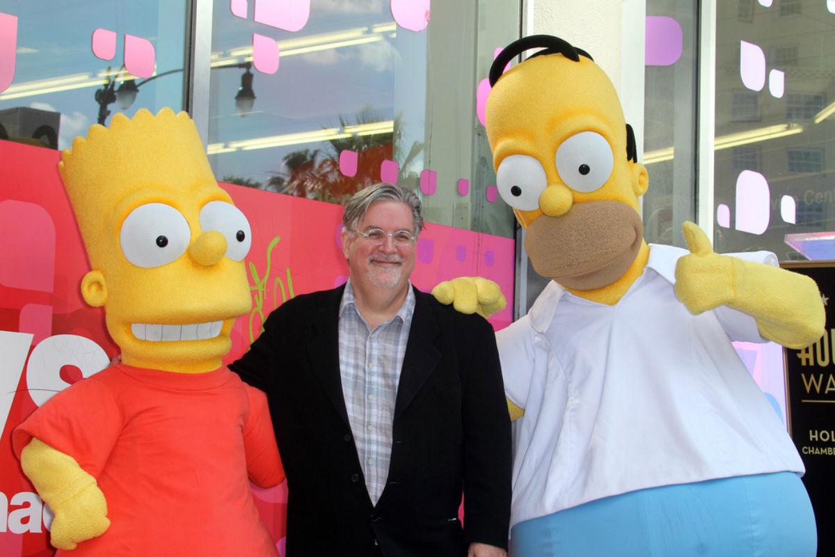 Matt Groening creador de Los Simpsons
